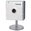 Vivotek IP8132 mini IP kamera, 1 Mega Pixel 1280x800, 720P HD @30 fps, H.264+MPEG4+MJPEG Multi Streams, Adaptive Streaming, Privacy dugme za prekid nadgledanja, Backlight compensation, mikrofon, DI+DO, Anti-Tamper