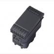ITA-LV-01-1 prekidač jednostruki sa prorezom za LED tinjalicu, klasični i/ili naizmenični 250V-10A, 1M