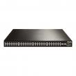 DCN L3 svič DCRS-5750-52T  48 x Gigabit (44xUTP+4xCombo SFP/UTP) + 4 x 10GigaE (XFP/SFP+), IOS Layer 3 Lite Routing, IPv6 certification Phase II, PS AC+RPS