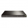 DCN L3 svi DCRS-5750-52T-DC  48 x Gigabit (44xUTP+4xCombo SFP/UTP) + 4 x 10GigaE (XFP/SFP+), IOS Layer 3 Lite Routing, IPv6 certification Phase II, PS AC+RPS