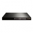 DCN L3 PoE svič DCRS-5960-28T-PoE  24 x Gigabit PoE Class 3 (20xUTP+4xCombo SFP/UTP) + 4 x 10GigaE (XFP/SFP+), IOS Enhanced Security & Layer 3 Routing, IPv6 certification Phase II, PS AC+RPS