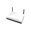 Proscend 130 ADSL2+ / VDSL2 Multi-DSL WiFi 802.11n 300Mb/s firewall ruter brzine do 24Mb/s (ADSL2+) / 100Mb/s (VDSL2), 4 x Ethernet LAN 10/100Mb/s, QoS, VPN, SNMP
