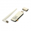 TP-Link TL-WN722N 150Mb/s high gain wireless 2.4GHz USB kartica 100mW (20dBm) + RP-SMA antena 4dBi, WPS dugme za brzo WiFi kriptovanje, Easy setup utility