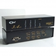 HDMI matrix svič & spliter CKL-34HD  3-IN/4-OUT with Remote control, Fully HDMI 1.3 Compliant up to 1080p HDTV