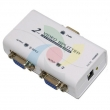 VGA spliter CKL-1021A 1-IN/2-OUT bandwidth 250MHz, 1920x1440p, extend the signal up to 65m