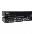 VGA spliter CKL-108S 1-IN/8-OUT + Audio, bandwidth 450MHz, 2048x1536p, extend the signal up to 65m