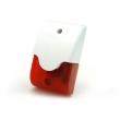 Sirena sa strob crvenim svetlom S603, piezo tehnologija, 3.8KHz ton, jačina 108dB