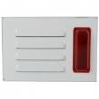 Sirena sa strob crvenim svetlom outdoor KF84, metalno kućište, 3.8KHz ton, jačina 115dB, napajanje 12VDC/350mA, 123x86x63mm