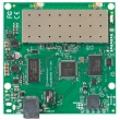 MikroTik RouterBoard RB711-5HnD - Dual Chain 5GHz, 802.11a/n 200mW (2xMMCX), Atheros AR7241 CPU 400MHz, 1 x LAN (PoE), 32MB RAM sa RouterOS L3