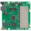 MikroTik RouterBoard RB711GA-5HnD - Dual Chain 5GHz, 802.11a/n 200mW (2xMMCX), Atheros AR7241 CPU 400MHz, 1x10/100/1000 Mb/s LAN (PoE),1xUSB 2.0, 64MB RAM sa RouterOS L4