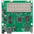 MikroTik RouterBoard RB711UA-5HnD - Dual Chain 5GHz, 802.11a/n 200mW (2xMMCX), Atheros AR7241 CPU 400MHz, 1xLAN (PoE),1xUSB 2.0, 64MB RAM sa RouterOS L4