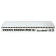 "MikroTik RB1100AHx2 ruter sa 13 Gigabit 10/100/1000Mb/s LAN/WAN port, VPN-BGP-MPLS/firewall/bandwith manager/load balance, PowerPC dual core 1GHz, IPsec accelerator, 2GB RAM, microSD slot, PoE in 12-24V, 19"" rack, ROS L6"