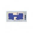 GST GST8903 grafički paralelni panel (Graphic Mimic Panel), LED indikacija do 99 zona/uređaja, grafička podloga i kućište nisu uključeni, za za IFP8 centralu potrebna P-9946 mrežna kartica