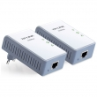 TP-Link TL-PA210KIT 200Mb/s Mini Powerline Ethernet Adapter za mrežu preko strujne instalacije (komplet) - domet do 300m, 128 Bit AES kriptovanje, QoS, Ethernet 10/100Mb/s port