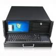 "Rack-mount 4U/19"" radna stanica sa 8.9"" LCD-om i trackball tastaturom na izvlačenje, max. EATX MB, USB + 5.25"" mesto napred, 2 x 3.5"" disk slot pozadi, 2 x 3.5"" int. disk, mesto za stand. ATX PSU, dub. 500mm (NI-N475LK)"