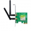 TP-Link TL-WN881ND 300Mb/s wireless 2.4GHz 802.11n PCI Express adapter, Atheros čip, 2T2R MIMO, CCA
