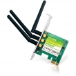 TP-Link TL-WDN4800 N900 wireless dual band PCI Express 802.11a/b/g/n kartica (450Mb/s @ 2.4 & 450Mb/s @ 5GHz), Atheros čip 100mW (20dBm), MIMO 3 x RP-SMA antene, Easy Wireless Configuration Utility