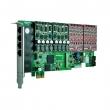 OpenVox A1610E PCI Express 16-portna VoIP Asterisk kartica (4 slota za FXO400 / FXS400 module)