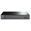 TP-Link TL-SG3210 JetStream™ 10-port Gigabit Managed Svič, 8x10/100/1000Mb/s + 2xCombo100/1000Mb/s SFP slot, SNMP, 802.1Q VLAN, RMON, QoS, Security, AC 100-240V / 50-60Hz