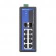Moxa EDS-G308-2SFP 8-portni gigabitni industrijski svič, 6 x 10/100/1000 BaseT(X) + 2 x Combo Port (10/100/1000BaseT(X) ili 100/1000BaseSFP)