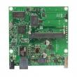 MikroTik RouterBoard RB411GL - 1 x Gigabit 10/100/1000Mb/s LAN / WAN port (PoE), 1 x miniPCI slot, 1 x USB port (za 3G/LTE modem ili storage), CPU 680MHz, 64MB RAM, dim. 105x105mm, temp. -30C-60C, RouterOS L4