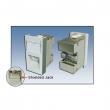 Uložak sa 1 RJ-45 STP kat. 6A pod uglom - dim. 45x22.5mm (1M), Shielded, Krone LSA reglete, DELTA / EC & ETL sertifikati