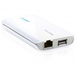 TP-Link TL-MR3040 3G / 4G LTE mini ruter prenosni 150Mb/s 802.11b/g/n na 2.4GHz, sa baterijom 2000mAh, 1 x WAN/LAN 10/100Mb/s+ 1 x USB za modeme+ 1 x miniUSB za napajanje, 3 moda: Router/WISP Client/AP, dim. 100x62x16mm