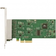 MikroTik RouterBoard RB44Ge PCIexpress 4-portni Gigabit 10/100/1000Mb/s adapter, Atheros AR8131/M chip, drajveri za Windows, Linux, RouterOS