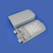 Fiber optička završna kutija (ZOK) IP65 outdoor, platična, bez nosača za adaptere, sa splice kasetom i 2 uvodnika kabla, izolacija IR > 20GΩ/500V, lightening do 15KV/1min, 378x180x74mm, -20~+55°C (FBPP-WMG-P62WA)