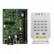 Alarmna protivprovalna centrala PA-728EX sa 6 žičnih zona (4 za detektore + 2 za tastature) + PA-646 tastatura  - RISC CPU, user-frendly programming, 2 particije, 49 korisničkih kodova