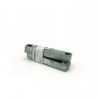 Kontakt magnetni za metalna vrata (par) C58, radni razmak (zazor) 40mm±5mm, strujni kapacitet 0.5A/100VDC