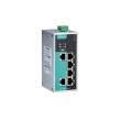Moxa EDS-P206A-4PoE-T industrijski svič 6x10/100BaseT(X) porta (4 x PoE+), -40 do 75°C