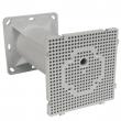 Dozna Kopos MDZ za ugradnju u termo-fasade debljine do 200mm, Ø60mm, sa montažnom pločom 119x119mm, podešavanje dubine sečenjem segmenata od 50 do 200mm, samogasiva
