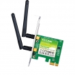 TP-Link TL-WDN3800 N600 wireless dual band PCI Express 802.11a/b/g/n kartica (300Mb/s @ 2.4GHz & 300Mb/s @ 5GHz), Atheros čip 100mW (20dBm), MIMO 2 x RP-SMA antene, Easy Wireless Configuration Utility