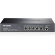 TP-Link TL-ER6020 SafeStream Gigabit Dual-WAN VPN FireWall Ruter - 2 x Gigabit WAN + 1 x Gigabit LAN/DMZ + 2 x Gigabit LAN, do 50 IPsec VPN tunela, Intelligent Load Balance, IP-based Bandwidth Control