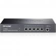 TP-Link TL-ER6020 SafeStream™ Gigabit Dual-WAN VPN FireWall Ruter - 2 x Gigabit WAN + 1 x Gigabit LAN/DMZ + 2 x Gigabit LAN, do 50 IPsec VPN tunela, Intelligent Load Balance, IP-based Bandwidth Control