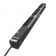 Eaton ePDU – Basic, 220V 16A razvodni panel sa 16 utičnih C13 mesta, prekidačem, prenaponskom zaštitom i kablom 3m sa C20 utikačem, ugaoni nosači za montažu, 47.5x635.0x59.6mm (EPBZ03)