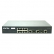 DCN L2 svič DCS-3950-10C  8 x 10/100Mb/s + 2 x Combo 100/1000M Gigabit SFP / UTP, IOS Enhanced Management & Security