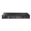 DCN L2 svič DCS-4500-10C  10 x Gigabit (8xUTP+2xCombo SFP/UTP), IPv4/IPv6 Dual Stack, Voice VLAN i QinQ, STP/RSTP/MSTP, LACP 802.3ad, IGMP v1/v2/v3 snooping, MVR, DoS, OAM 802.3ah, VCT, Digital Diagnostic Monitoring, ACL