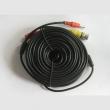 BNC 75Ω coax + napojni DC činč hibridni patch kabl, dužina 15m, fabrički napravljen i testiran (AZVC15)