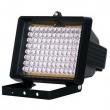IR osvetljivač AZ4860 dometa 25m i ugla pokrivanja 60°, 24 x LED φ10mm/45° + 24 x LED φ8mm/60°, napajanje 230VAC