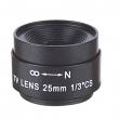 """Objektiv AZE0412NI fiksne žižne daljine 4.0mm, žižni broj F1.6, format 1/3"""", ugao pokrivenosti 76º, metalno kućište, CS montaža"""