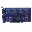 DVR PCI kartica za računar AZ6416E 16-kanalna dual-stream, H.264, pregled i snimanje u D1 , 100fps, 16 x BNC video ulaz, 4 x RCA audio ulaz, CMS softver i web pristup, DDNS, UPnP, podrška za 3G mrežu