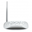 TP-Link TD-W8951ND 150Mb/s wireless 802.11n ADSL2+ IPv4/IPv6 ruter 4xLAN, SPI & NAT firewall, MAC/IP/Packet/Application/URL filter, QoS, SSL, TR069, SNMP, WiFi On/Off i WPS dugmad, WiFi 100mW+ 5dBi RP-SMA antena, spliter