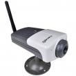 IP kamera Wireless-G, CMOS VGA 30fps velike osetljivosti 0.5 Lux, AWB i AGC, MPEG4 kompresija, WEP/WPA-PSK enkripcija, mikrofon, IPView softver za 16 kamera (SparkLAN CAS-630W)