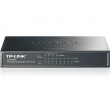 TP-Link TL-SG1008P PoE svič 8-port Gigabit 10/100/1000Mb/s, 4 PoE porta 802.3af do 53W, PoE Port Priority Function - Overload Arrangement, 802.3x flow control, auto-uplink every port, Eco energy-efficient