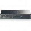 TP-Link TL-SG1008P PoE svič 8-port Gigabit 10/100/1000Mb/s, 4 PoE porta 802.3af do 53W, PoE Port Priority Function - Overload Arrangement, 802.3x flow control, auto-uplink every port, Eco energy-efficient