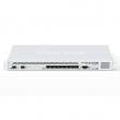 "MikroTik CCR1036-8G-2S+EM Cloud Core Router 8 x GbE RJ45 + 2 x SFP+10GbE + USB, CPU 36core x 1.2GHz /41.5mpps, 16GB RAM, touchscreen LCD, VPN-BGP-MPLS-3G ruter/ firewall/ bandwith manager/ load balancer, 19"" rack, ROS L6"