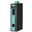 Moxa IMC-21A-S-SC-T Industrijski 10/100BaseT(X) na 100BaseFX media konverter, single-mode, SC konektor (-40 do 75°C)