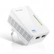 TP-Link TL-WPA4220 300Mbps AV500 WiFi Powerline Extender za mrežu preko strujne instalacije - domet do 300m brzinom do 500Mb/s, 128 Bit AES kriptovanje, Wi-Fi Clone Button, 2 x 10/100Mbps Ethernet Port